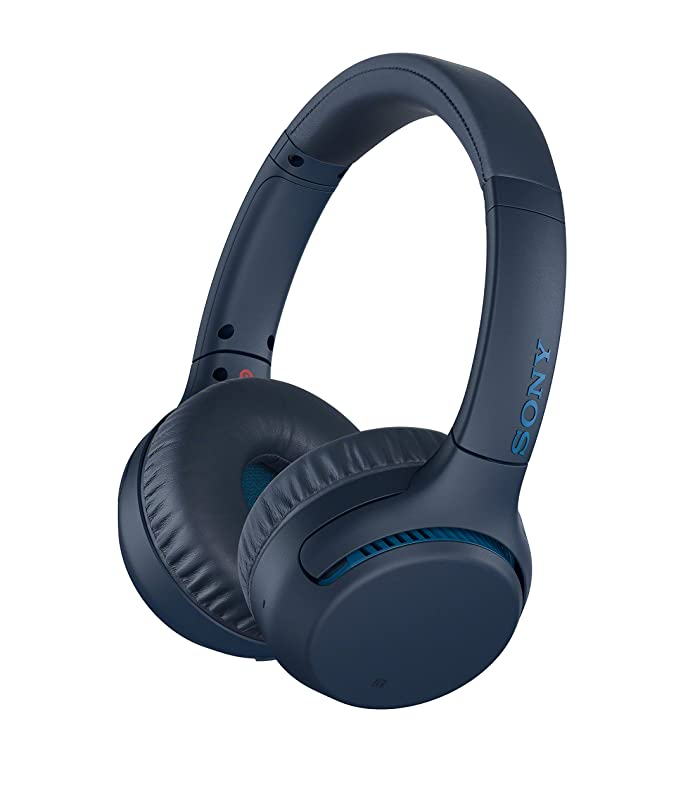 Sony Wireless On-Ear Headphones - Blue (WHXB700/L)