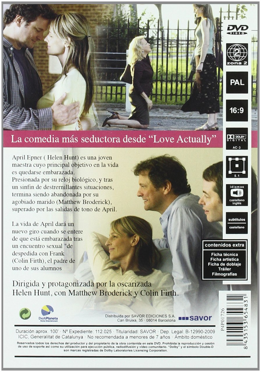Amazon.com: Cuando Ella Me Encontro (Import Movie) (European Format - Zone 2) (2010) Helen Hunt; Matthew Broderick; Col: Movies & TV
