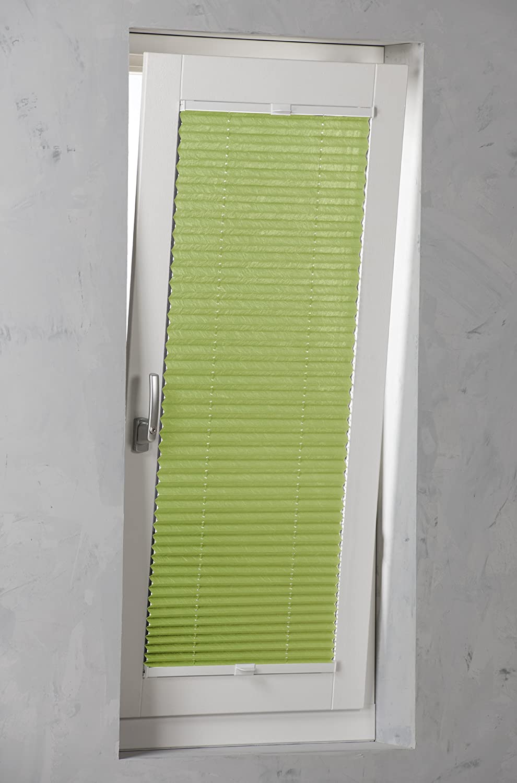 SANDEGA Plissee verspannt 120x130 120x130 120x130 Weiß B00KQFOY3S Plissees 405b31