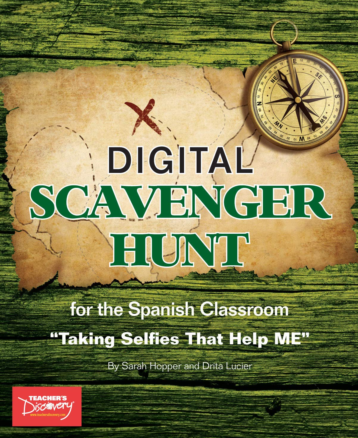 Spanish Digital Scavenger Hunt Book by Teacher's Discovery