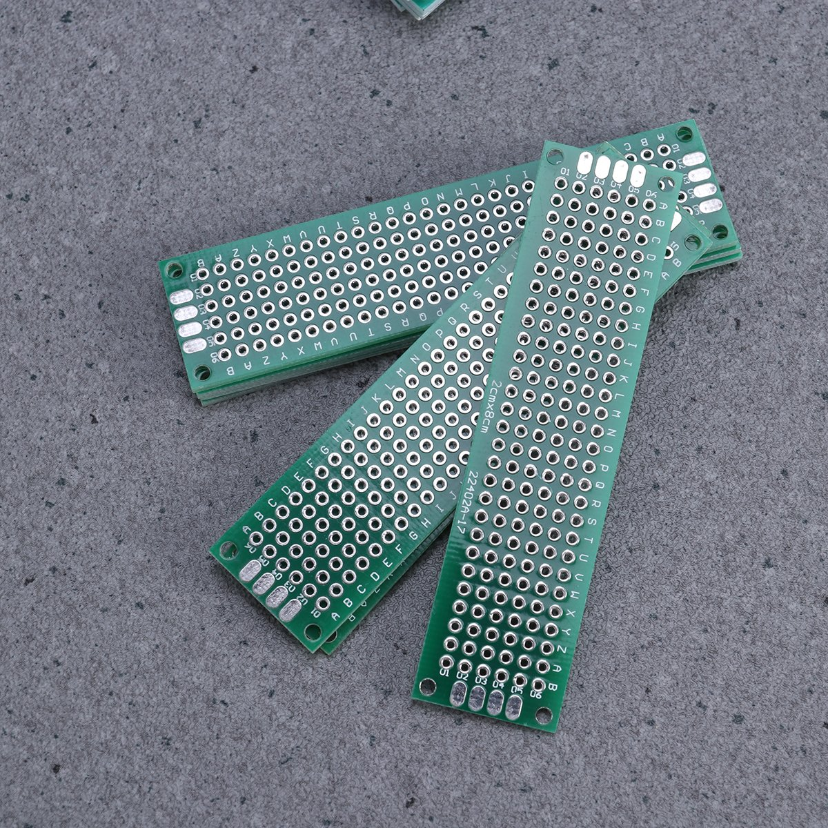 UEETEK 32pcs doble cara PCB Board Prototype Kit para soldar DIY con 5 tama/ños
