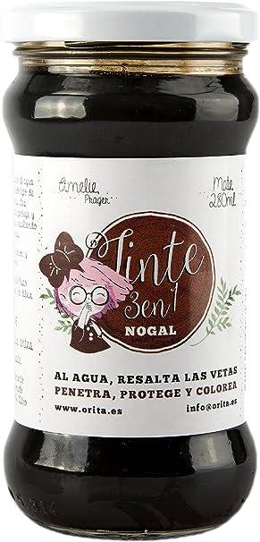 Amelie Prager 702704 Tinte, Nogal, 280 ml: Amazon.es ...