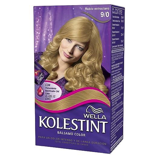 Wella Kolestint Tinte De Cabello Kit, Tono 90 Rubio Extra ...