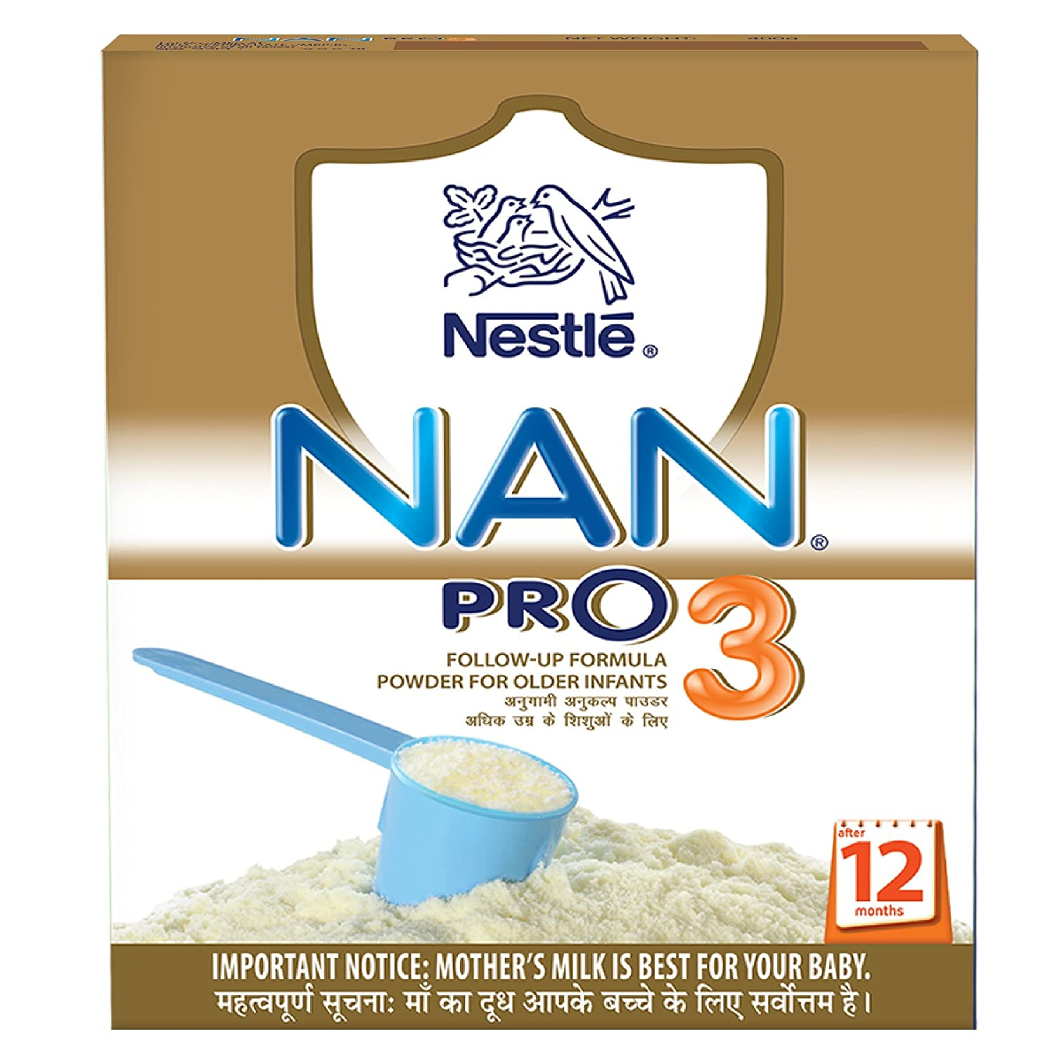 Dry milk formula Nestle NAN Triple comfort: reviews, composition 69