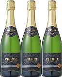ピエール・ゼロ ブラン・ド・ブラン ノンアルコールスパークリングワイン 750ml×3本