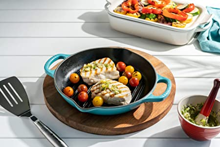 Signature Deep Round Grill Pan