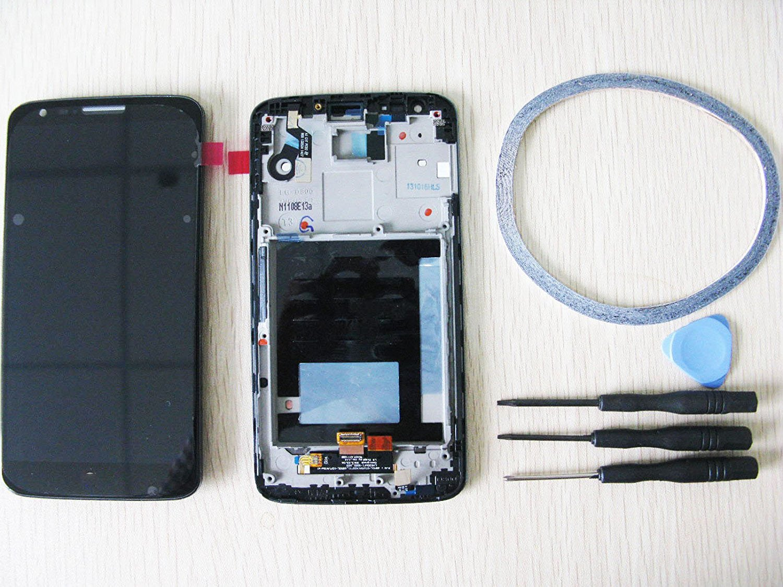 Amyahu For D802 LCD Display LG G2 Touchscreen Digitizer Glas schwarz ...