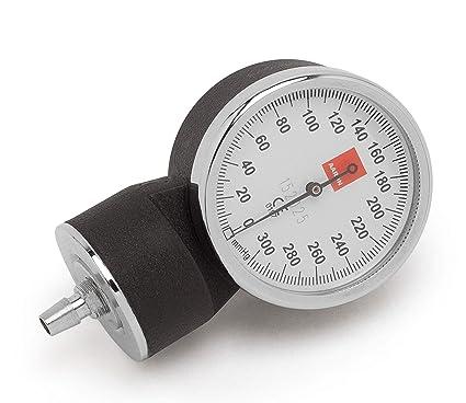 Manómetro AARON® para tensiómetro aneroide. Acabado de primera calidad con caja de acero.