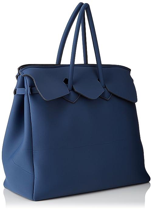 Save My Bag 10404N-LY-TU, sac à main femmeBleuBleu (Balena BAL), 44x40x20 cm (W x H x L) EU