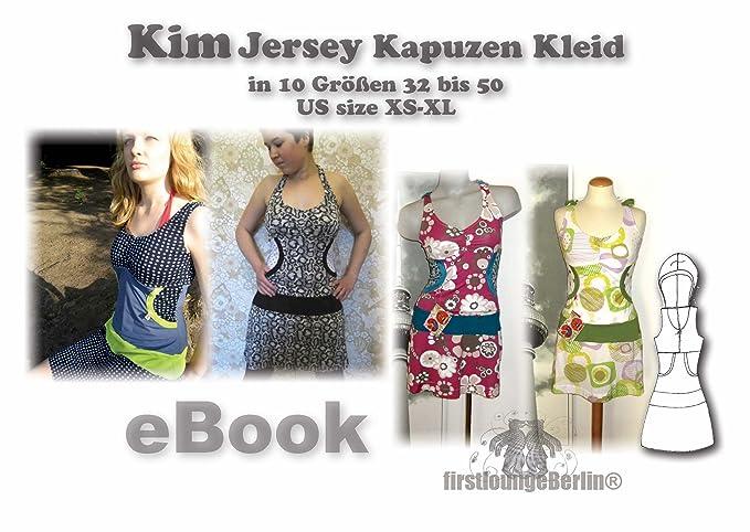 Kim Nähanleitung mit Schnittmuster auf CD für Jerseykleid in Gr. 32 ...