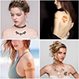 Best Temporary Henna Tattoo Designs - Metallic
