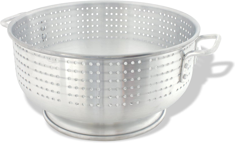 Crestware Commercial Kitchen Crestware 11-Quart Heavy Duty Aluminum Colander
