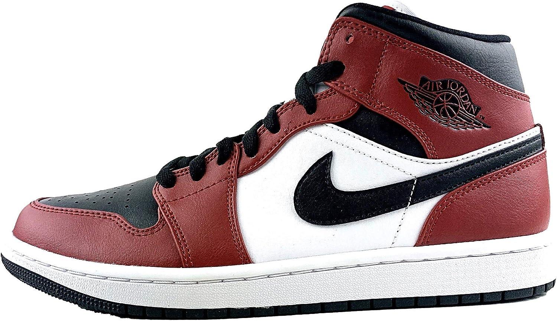Jordan Air 1 MID (Chicago Black Toe