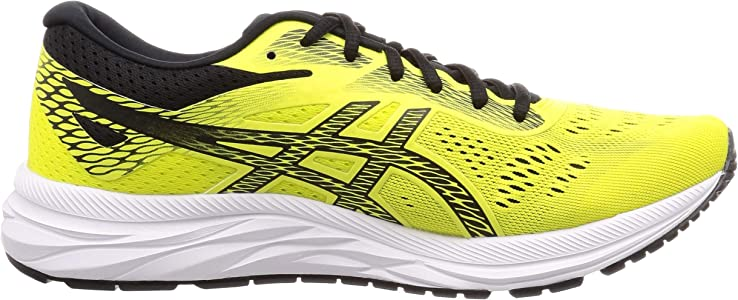 Asics Gel-Excite 6, Zapatillas de Running para Hombre, Amarillo (Sour Yuzu/Black 750), 46 EU: Amazon.es: Zapatos y complementos