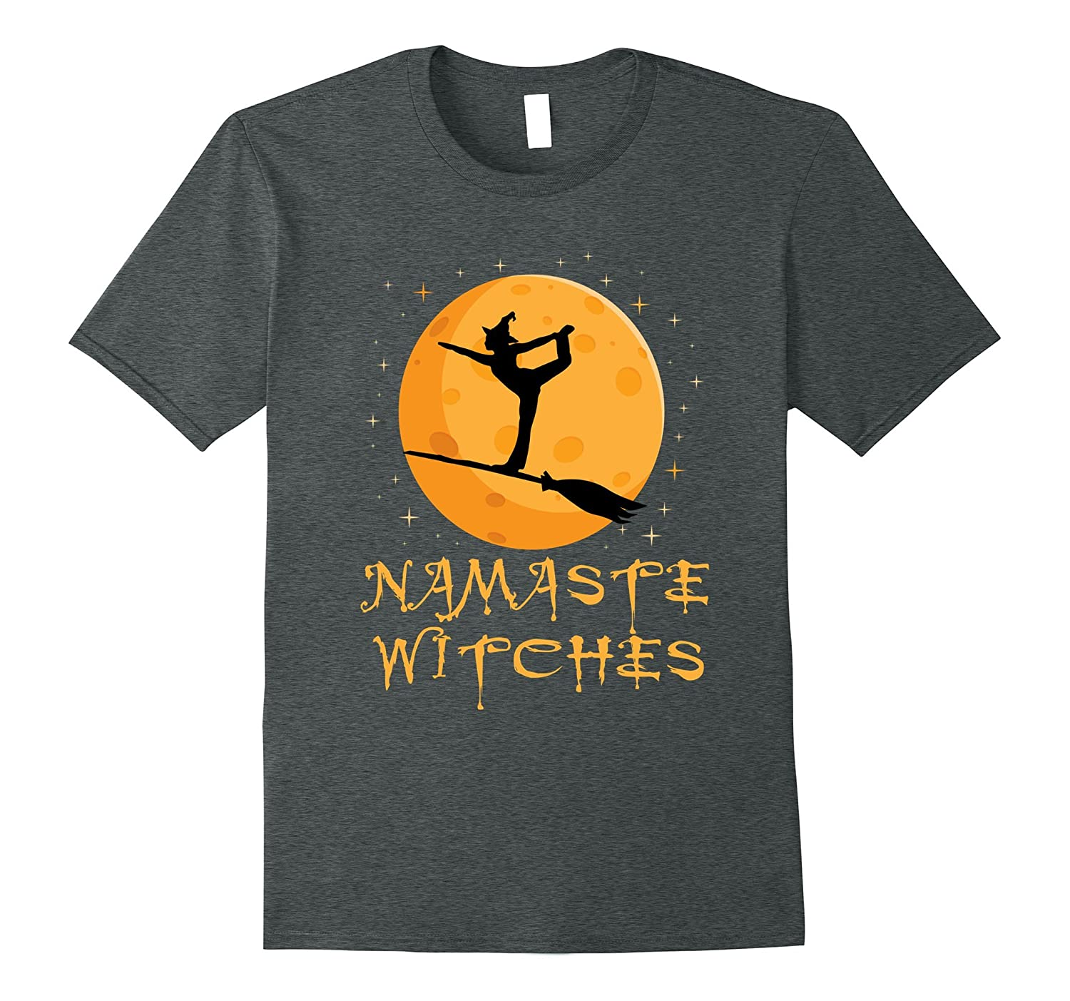 'Namaste Witches' Cute Witch Halloween Shirt