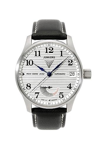 Junkers Automatic JU6660-1 Reloj elegante para hombres Fabricado en Alemania: Amazon.es: Relojes