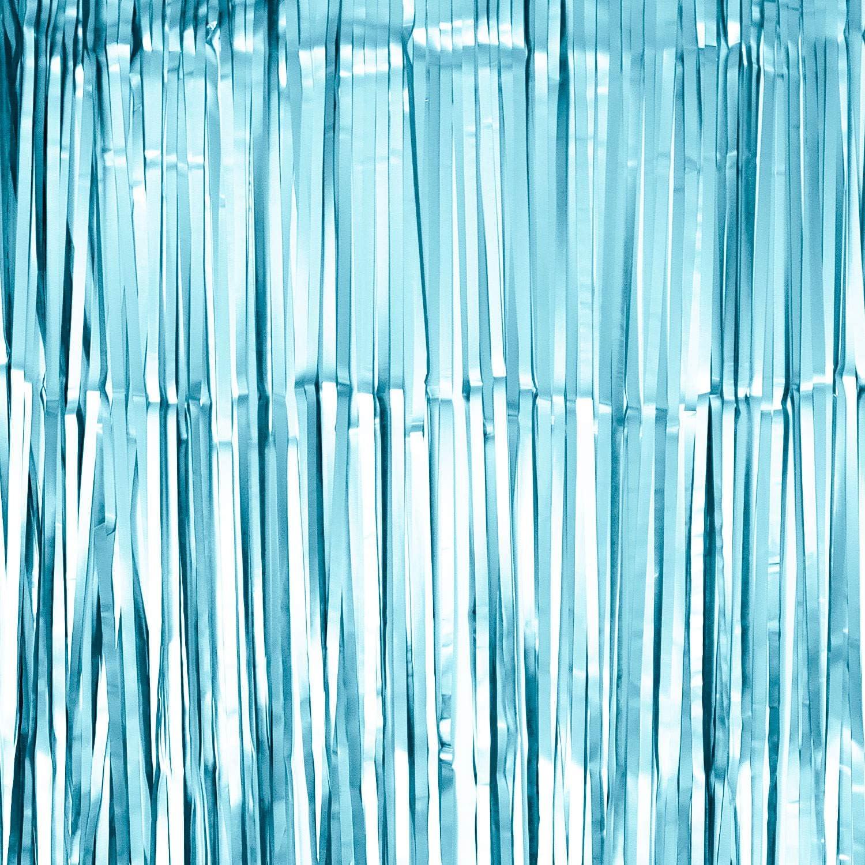 Oblique Unique/® Lametta Vorhang 100x200 cm f/ür Weihnachten Silvester Geburtstag Party Feier Fasching Karneval Dekoration Blau Gold Bronze Grün Silber w/ählbar Bronze matt