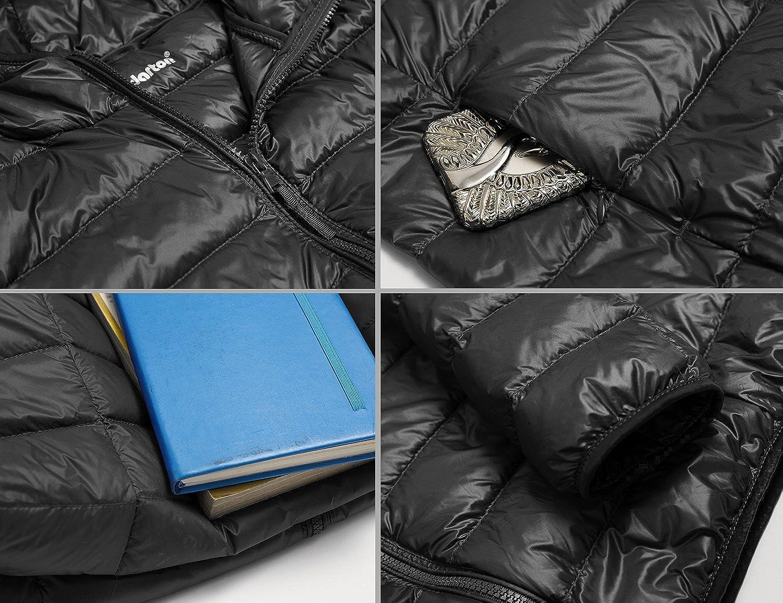 Yidarton Womens Lightweight Packable Hooded Coat Outwear Puffer Down Jacket