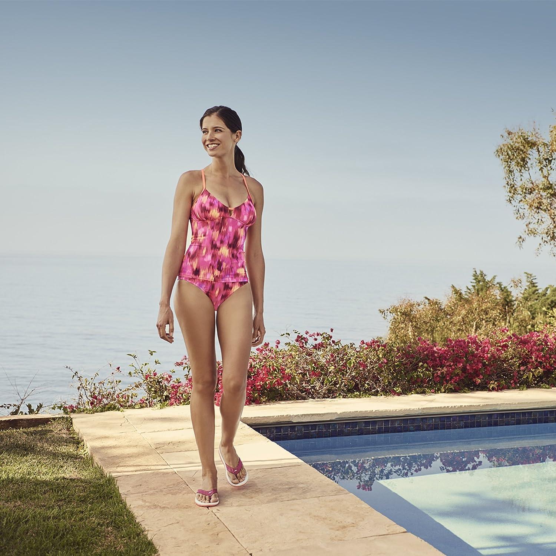 Speedo Womens Print Tankini Top Speedo Men/'s and Women/'s Swimwear 7734102-P