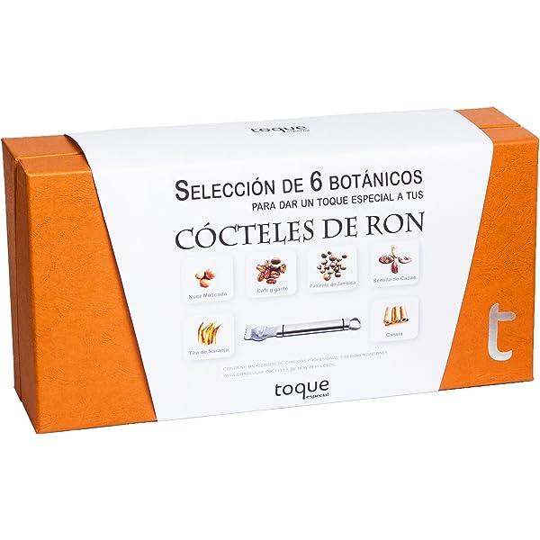 Toque Kit 6 botánicos para Ron: estuche premium con ...