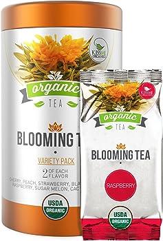 Organic Variety Pack of Flowering Tea (14-Ct.)