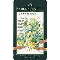Faber-Castell Pitt Pastel Boya Kalemi, 12 Renk