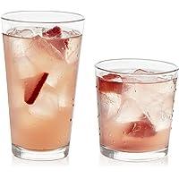 Libbey 16-Piece Clear Glassware Set