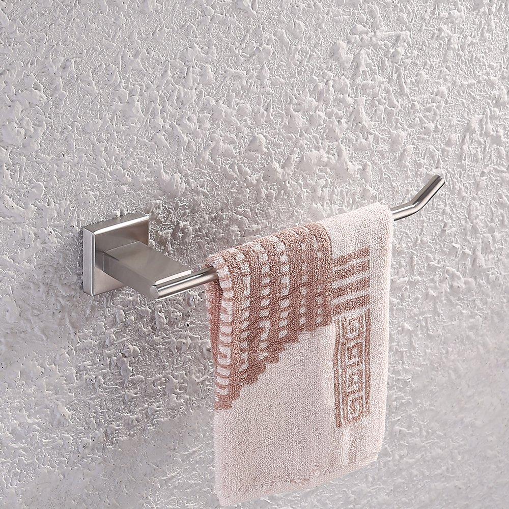 KES SUS304Support mural de salle de bain en acier inoxydable, A24-P, argent, 5845693