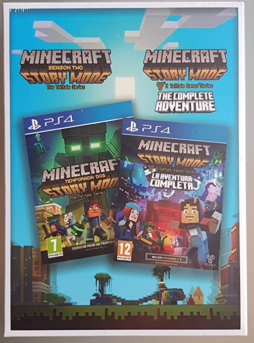 Pack Minecraft Story Mode : Season Two and The Complete Adventure: Amazon.es: Videojuegos