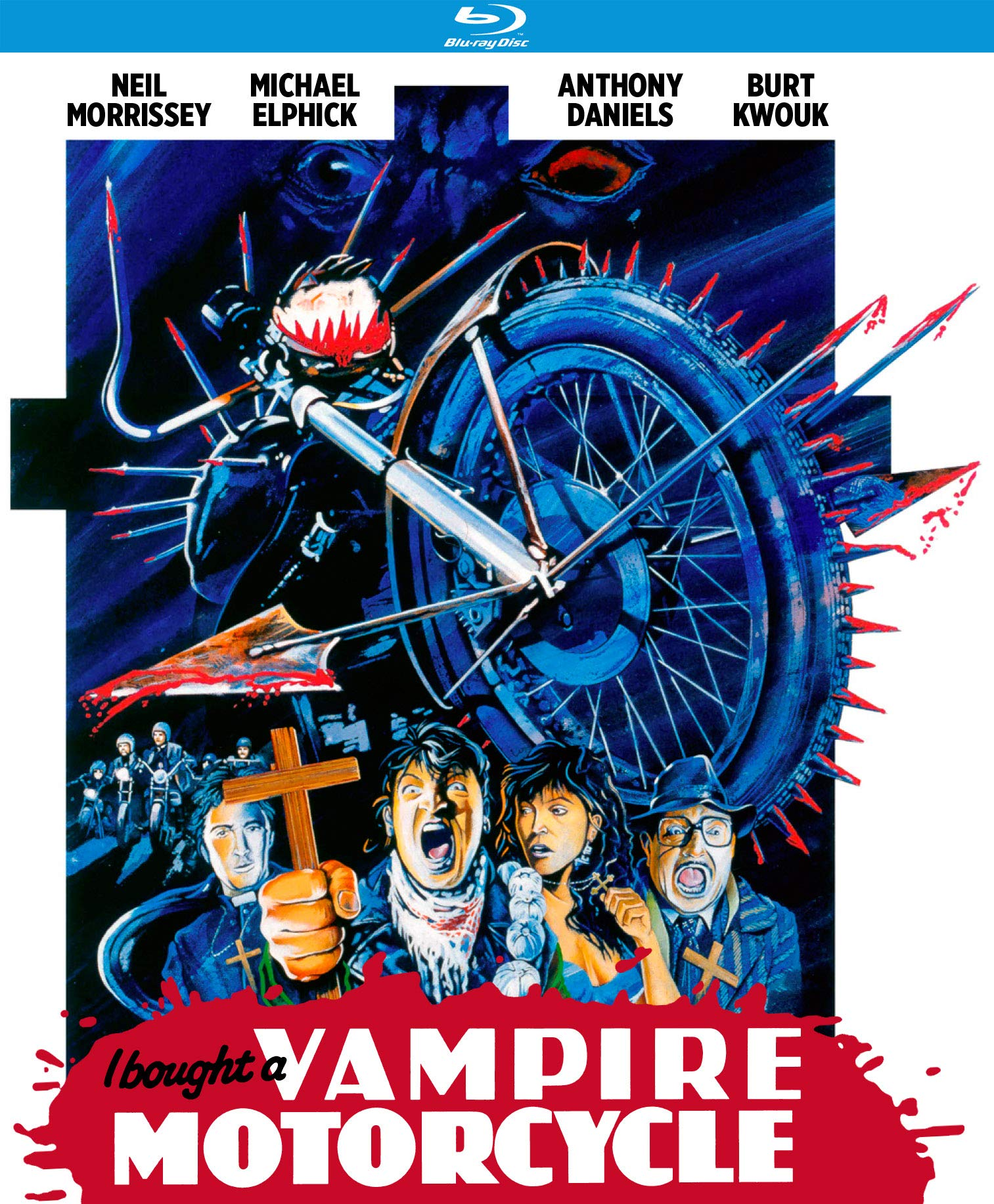 Blu-ray : I Bought A Vampire Motorcycle (Special Edition)