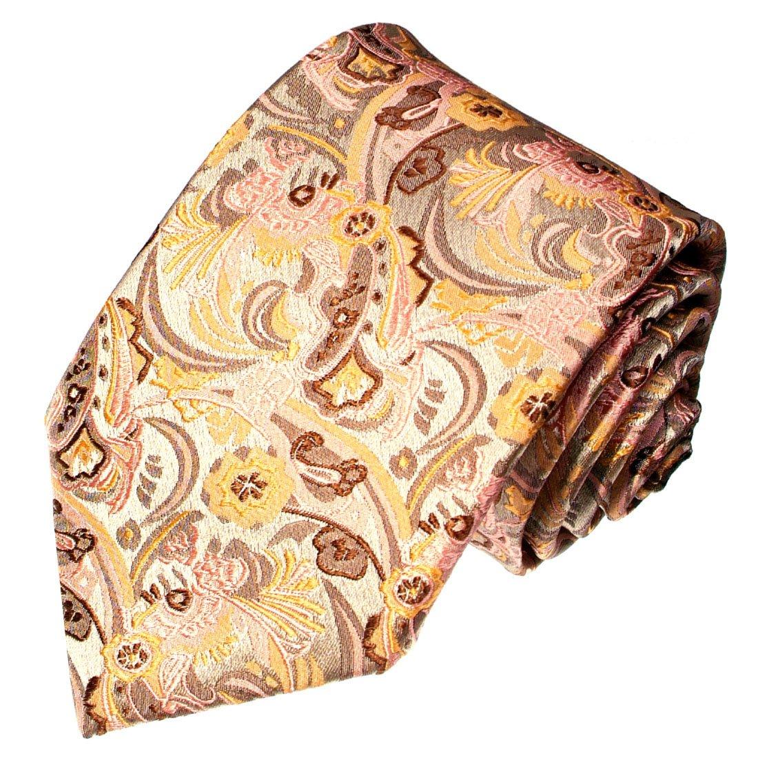LORENZO CANA - Corbata - Paisley - para hombre beige creme, beige ...