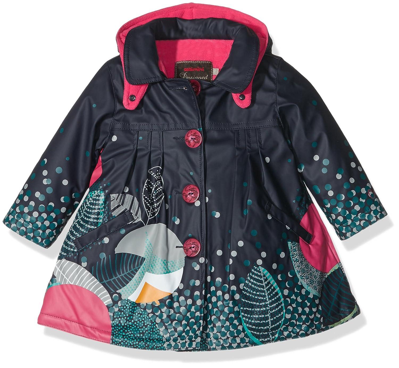 Catimini Baby-Mädchen Regenmantel Ci42063