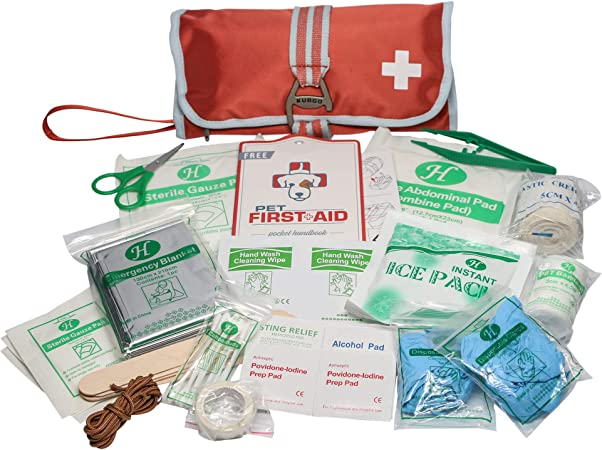 Kurgo Portable Dog First Aid Kit - The Most Convenient Aid Kit