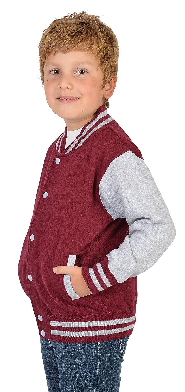 Coole Kinder Jacke für Buben Jungen College Jacke Beale Street56 ...