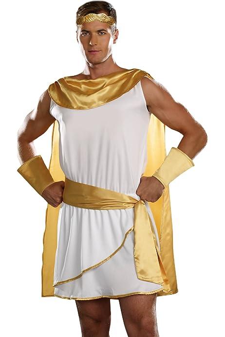 Amazon.com: Forum Novelties - Sandalias romanas para hombre ...