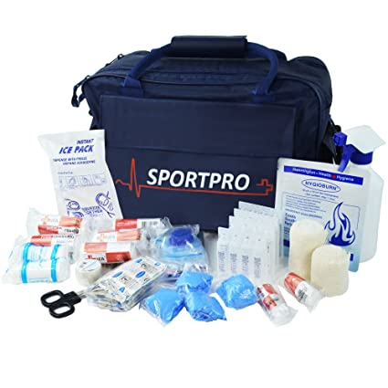 sportpro multiusos sports Kit en bolsa grande azul