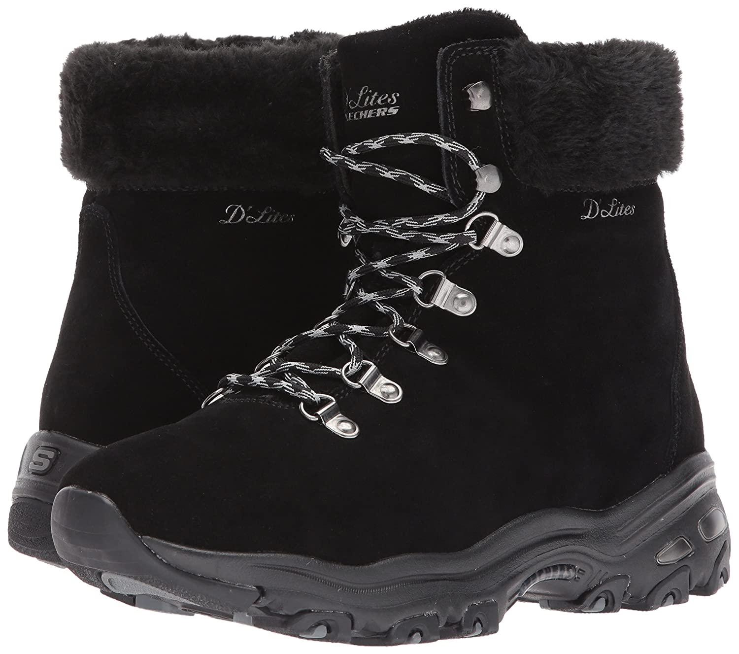 Skechers Women's D'Lites Alps W Snow Shoe