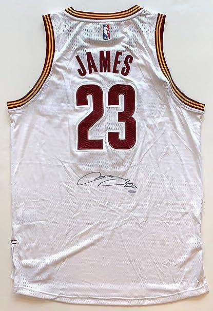 Lebron James Autographed Cleveland