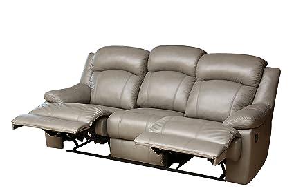 Fine Amazon Com Abbyson Maverick Top Grain Leather Reclining Uwap Interior Chair Design Uwaporg