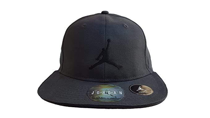 c6b38e39f4c Air Jordan Jumpman Baseball Adjustable Cap Youth 8 20 Anthracite (693)    Black