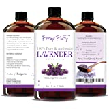 Feeling Fluffy 100% Pure Lavender Essential Oil - 4 oz (118 ml) - Therapeutic Grade Aromatherapy Oil - Perfect to Add to Dryer Balls