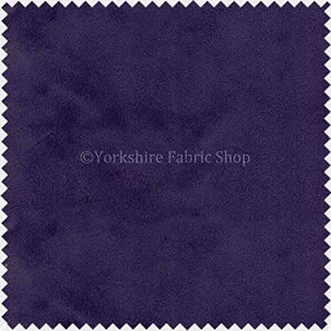 Yorkshire Fabric Shop Felpa Suave Tela de Terciopelo Ideal ...