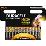 Duracell Plus Power Piles Alcalines type AAA, Lot de 12