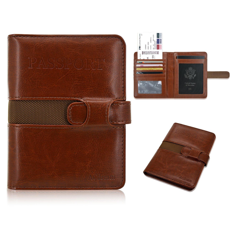 Passport holder rfid blocking acdream premium protective leather passport holder rfid blocking acdream premium protective leather wallet case for passport credit card reheart Gallery