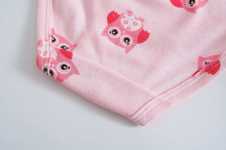 Sladatona Little Girls Underwear Toddler Panties Big Kids Undies Soft 100/% Cotton