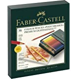 Faber-Castell Polychromos Colour Pencils in Studio Box of 36, (18-110038)