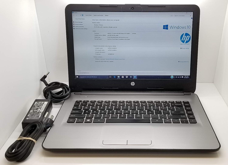 HP Notebook 14-an012nr (AMD Quad-Core Processor, 32GB eMMC)