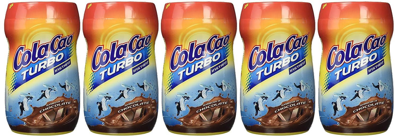 Colacao Turbo Bebida con Sabor a Chocolate 750g - [Pack de 5]: Amazon.es: Alimentación y bebidas