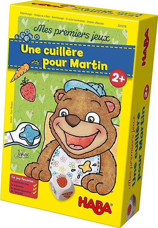 HABA-Mes Premiers Jeux – Une cuillère pour Martin, 301076: Amazon.fr: Jeux et Jouets
