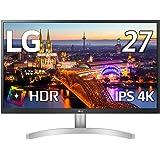 【Amazon.co.jp 限定】LG モニター ディスプレイ 27UL500-W 27インチ/4K/HDR(標準輝度:300cd/㎡)/IPS非光沢/HDMI×2、DisplayPort/FreeSync/ブルーライト低減